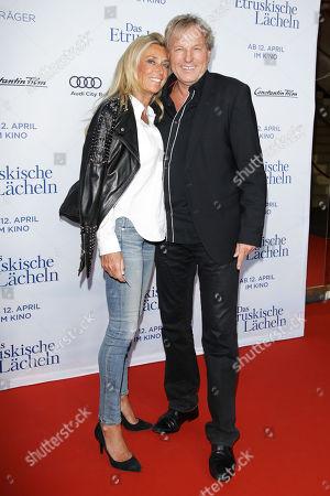 Bernhard Brink mit Ehefrau Ute