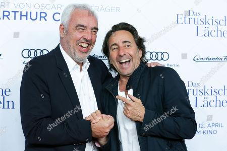 Stock Photo of Hans Reiner Schroeder and Dieter Landuris