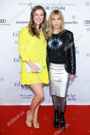 Nina Eichinger and Rosanna Arquette