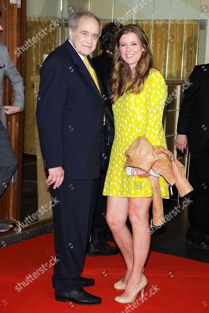 Arthur Cohn and Nina Eichinger