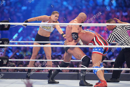 Editorial photo of Wrestlemania 34 at the Mercedes-Benz Superdome, New Orleans, USA - 08 Apr 2018