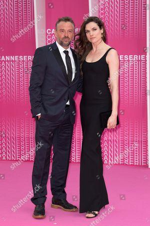 Tom Waes and Anna Drijver