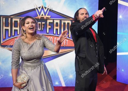 Editorial image of WWE Hall Of Fame Induction, New Orleans, USA - 06 Apr 2018