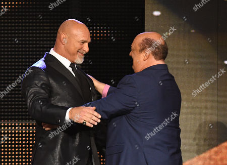 Bill Goldberg and Paul Heyman