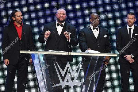 Editorial photo of WWE Hall Of Fame Induction, New Orleans, USA - 06 Apr 2018