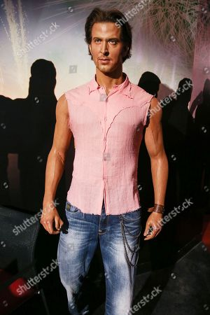 Wax figure of Indian actor Hrithik Roshan