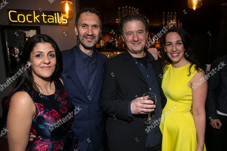 Stock Picture of Stephanie Street (Diana Ingram), Paul Bazely, Jay Villiers (David Liddiment) and Lizzie Winkler (Claudia/Ruth Settle/Attractive Assistant)