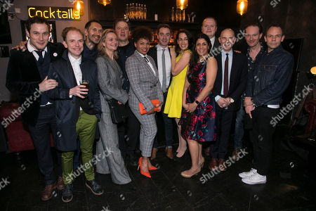 Henry Pettigrew (Adrian Pollock), Greg Haiste (Paddy Spooner/Paul Smith), Paul Bazely, Sarah Woodward (Sonia Woodley QC), Jay Villiers (David Liddiment), Sharon Ballard (Ensemble), James Graham (Author), Lizzie Winkler (Claudia/Ruth Settle/Attractive Assistant), Stephanie Street (Diana Ingram), Gavin Spokes (Charles Ingram), Daniel Evans (Director), Mark Meadows (Tecwen Whittock/Brigadier Roberts) and Keir Charles (Chris Tarrant)