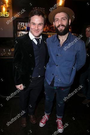 Henry Pettigrew (Adrian Pollock) and Nicholas Karimi