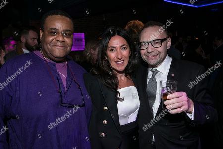 Clive Rowe, Katrina Sedley and Jonathan Shalit