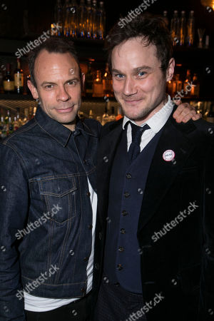 Keir Charles (Chris Tarrant) and Henry Pettigrew (Adrian Pollock)