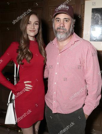 Madison Lintz and Executive Producer Henrik Bastin