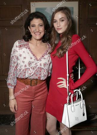 Amy Aquino and Madison Lintz