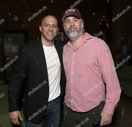 Stock Photo of Producer Tom Bernardo and Executive Producer Henrik Bastin