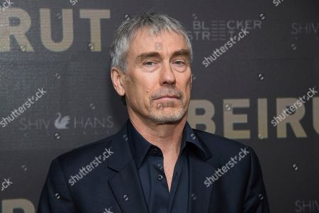 "Stock Image of Tony Gilroy attends a screening of ""Beirut"" at the Robin Williams Center, in New York"