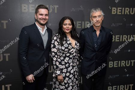 "Editorial picture of NY Special Screening of ""Beirut"", New York, USA - 10 Apr 2018"