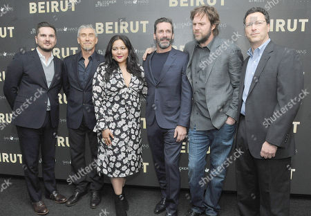 Editorial image of 'Beirut' film special screening, New York, USA - 10 Apr 2018