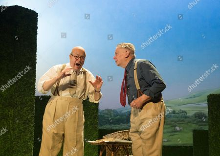 Roger Allam as John Christie, Paul Jesson as Fritz Busch