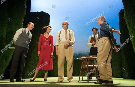Anthony Calf as Carl Ebert, Nancy Carroll as Audrey Mildmay, Roger Allam as John Christie, Jacob Fortune-Lloyd as Rudolf Bing, Paul Jesson as Fritz Busch