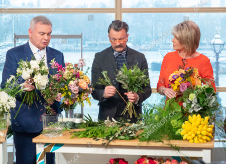 Stock Picture of Simon Lycett, Eamonn Holmes and Ruth Langsford