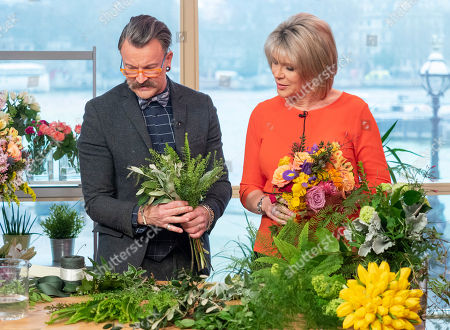 Simon Lycett and Ruth Langsford