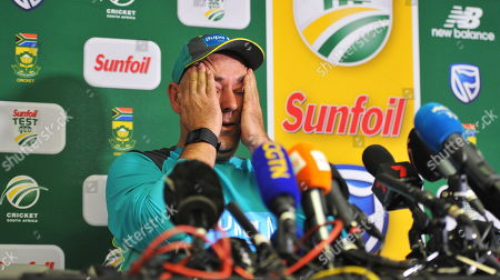 Editorial photo of Australian cricket coach Darren Lehmann quits, Johannesburg, South Africa - 29 Mar 2018