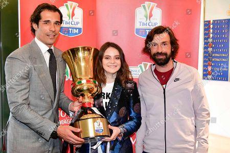 Bernardo Corradi, Andrea Pirlo, Francesca Michielin