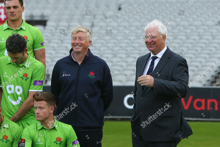 Lancashire CCC head coach Glen Chapple and director of cricket Paul Allot