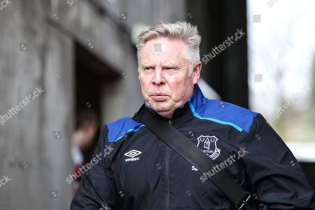 Everton Assistant Manager Sammy Lee