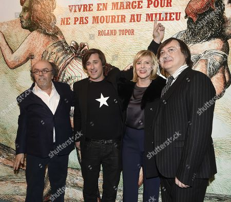 Jean Michel Ribes, Thomas Dutronc, Chantal Ladesou, Michel Fau