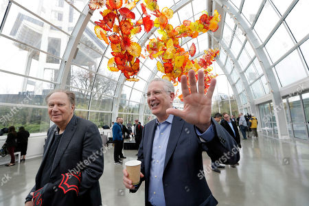 Tod Leiweke, David Bonderman. Tod Leiweke, right, gives a wave as he walks with majority owner David Bonderman after a news conference at Chihuly Garden and Glass naming Leiweke as the president and CEO for a prospective NHL expansion hockey team, in Seattle. Leiweke is the brother of Tim Leiweke, the CEO of the group heading the redevelopment of the arena which would serve as a home for a new team. The group is seeking to have a team awarded in time to begin play in 2020