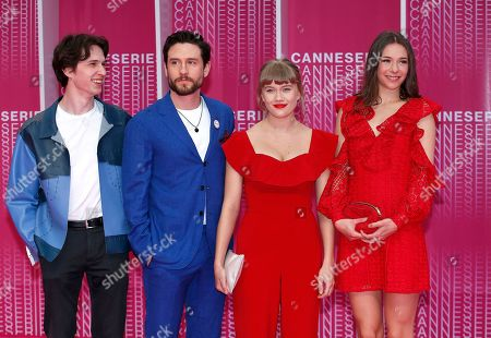 Editorial image of Cannes International Series Festival, France - 11 Apr 2018