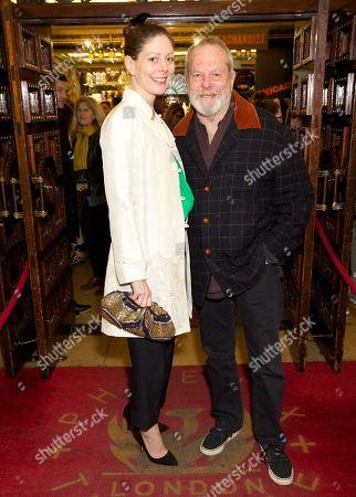 Amy Gilliam (daughter) & Terry Gilliam