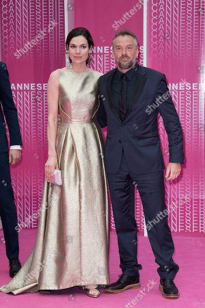 Anna Drijver and Tom Waes
