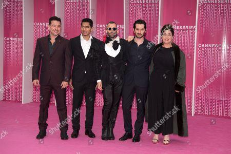 Raul Mendez, Omer Ben David,Tom Salama,Ran Danker and Daphna Levin from the serie 'Miguel'