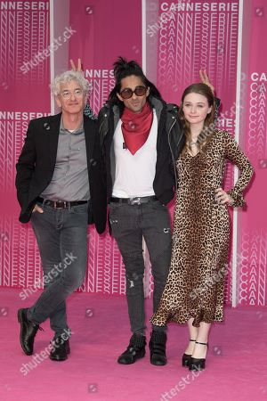 Canneseries Digital jury members Ed Solomon, Adi Shankar and Jessica Barden