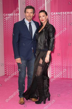 Franck Semonin and his wife Helene