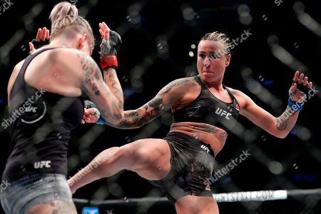 Editorial image of UFC 223 Mixed Martial Arts Clark Rodriguez, New York, USA - 07 Apr 2018