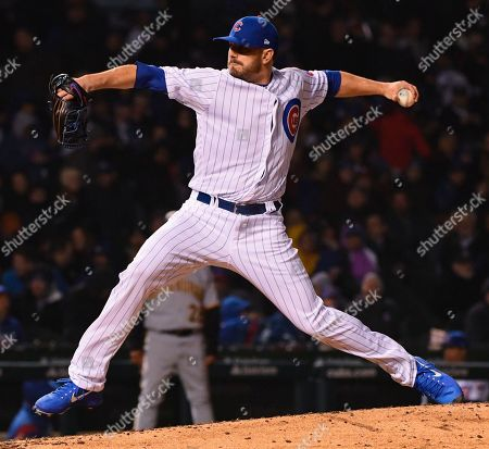 8c955e1540a Chicago Cubs starting pitcher Jon Lester (34) delivers during the fourth  inning of a