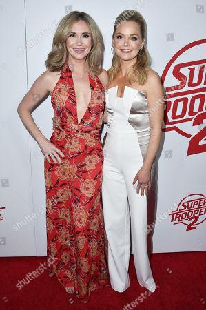 Ashley Jones and Marisa Coughlan