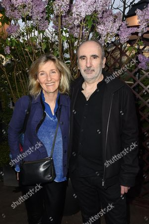 Philippe Harel and his wifeSylvie Bourgeois