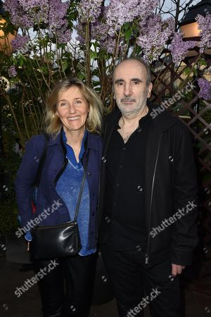 Stock Image of Philippe Harel and his wifeSylvie Bourgeois