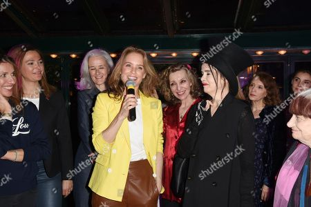 Editorial image of Prix de la Closerie party, Paris, France - 11 Apr 2018