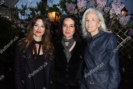 Editorial photo of Prix de la Closerie party, Paris, France - 11 Apr 2018