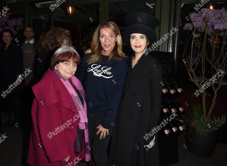 Agnes Varda and Amelie Nothomb