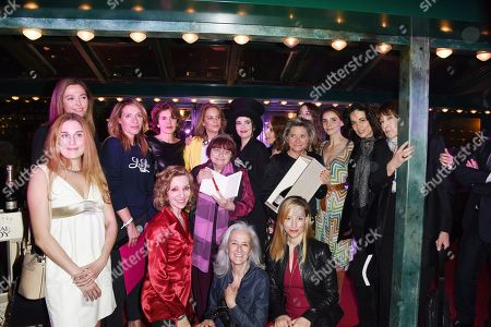 Agnes Varda, Adelaide de Clermont- Tonnerre et Clotilde Courau and Tatiana De Rosnay, Amelie Nothomb, Diane Ducret, Odile d'Oultremont