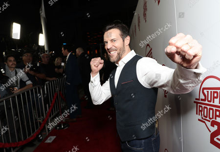 Editorial photo of 'Super Troopers 2' film premiere, Arrivals, Los Angeles, USA - 11 Apr 2018
