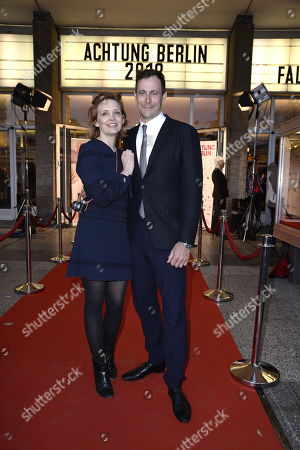 Stock Photo of Laura Tonke, Marc Hosemann