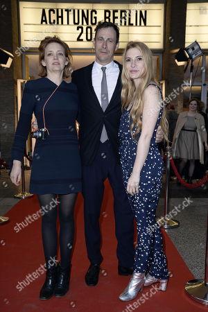 Laura Tonke, Marc Hosemann und Laura Lackmann