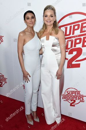 """Editorial photo of LA Premiere of """"Super Troopers 2"""", Los Angeles, USA - 11 Apr 2018"""